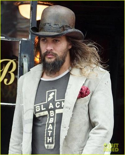 Jason Momoa Graham Norton: PHOTOS: Jason Momoa Out In New York