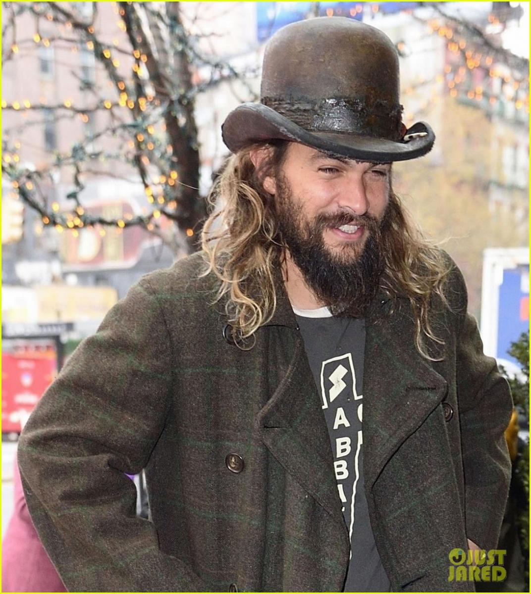 PHOTOS: Jason Momoa Out In New York