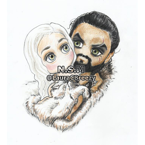 khal and khaleesi IG
